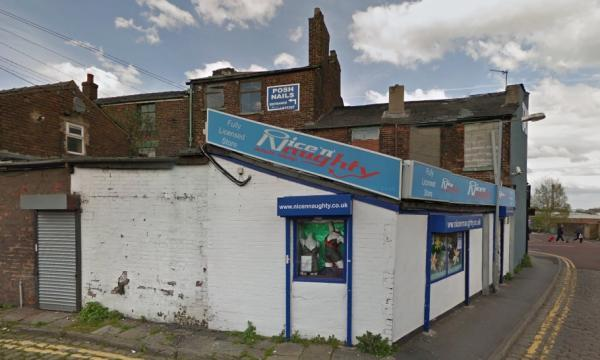Nice 'n' Naughty sex shop in Newport Street, Bolton. Picture from Google Maps.