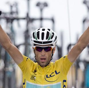 Vincenzo Nibali completed his fourth