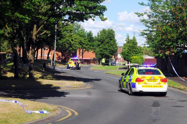 The scene of the accident in Frederick Street, Farnworth