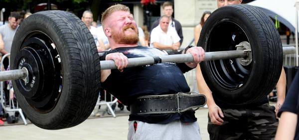 UPDATED: Strongman returns to Victoria Square