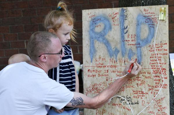 Tribute board created for motorcyclist killed in Farnworth tree crash
