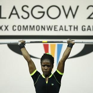 Chika Amalaha has been provisionally suspended from the Games after failing a drugs test (AP)