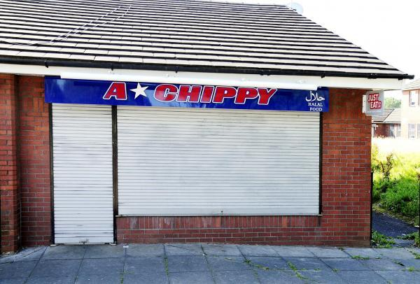 A Star Chippy in Lever Street, Great Lever. Inspectors were not particularly impressed by the changes since its last zero rating inspection.