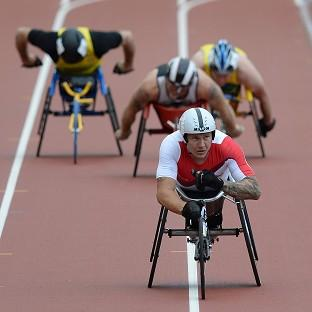 David Weir enjoyed yet more success on British soil