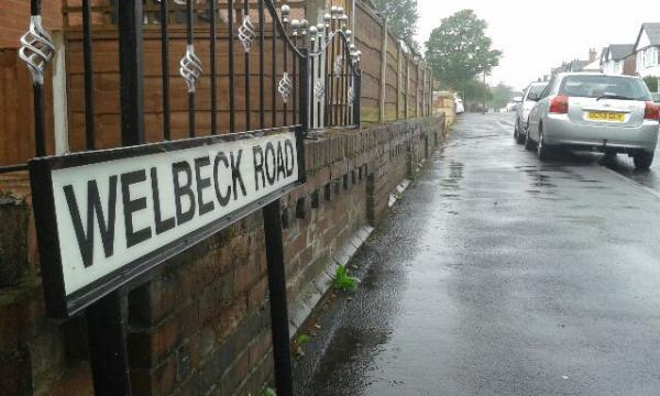 Welbeck Road, Heaton, where residents have been tricked by con artists.