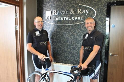 Bolton dentist completes mammoth 150-mile bike ride in one day