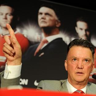 Louis van Gaal is upbeat about the start of the season