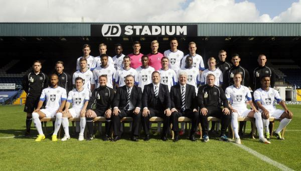 Bury's first team squad and directors