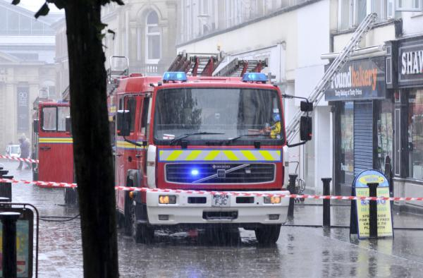 UPDATED: Fire at Pound Bakery