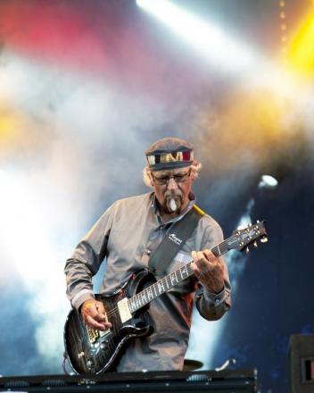 The Martin Barre Band will be at the Railway Venue on Friday, September 5