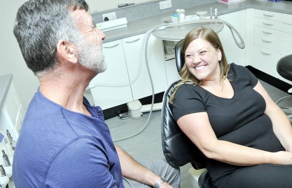 Bolton dentist uses 'happy air' to ease fear of going in the chair