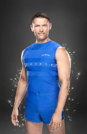 John Partridge, aka Christian Clarke from Eastenders, who will star in gymnastics show Tumble