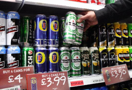 Beer cans and wine bottles should have health warning, says top Bolton doctor