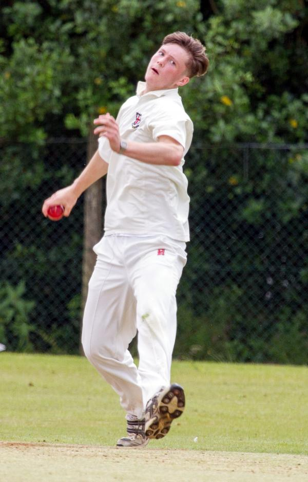 Lostock's David Flanagan starred with the bat and ball at Daisy Hill.