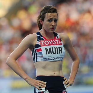 There was more frustration for Laura Muir in Zurich