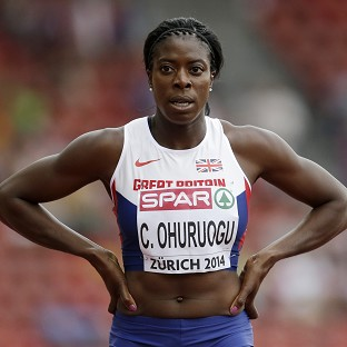 Christine Ohuruogu had few problems in her opening performance in Zurich (AP)