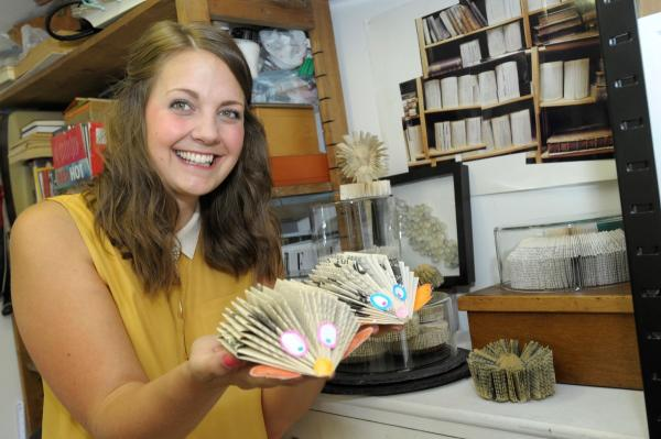 Art of book sculpting to be revealed at Lowton High workshops