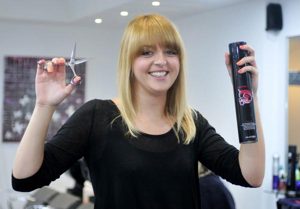 Halliwell hairdresser wins top national competition