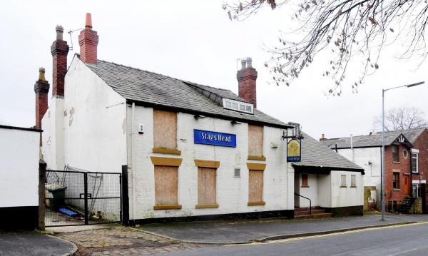 The Stags Head pub in Junction Road, Deane