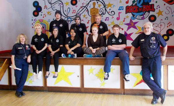 Young Princes Trust volunteers, who improved the Sutton Community Centre