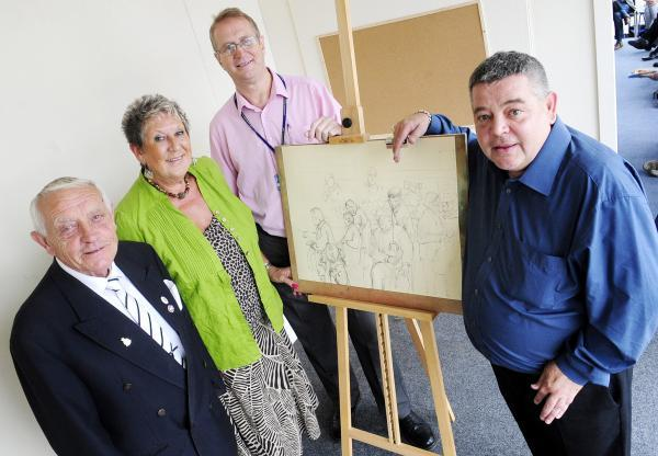 Art studio for mental health patients opens in Bolton town centre