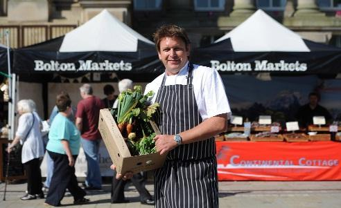 James Martin at last year's event