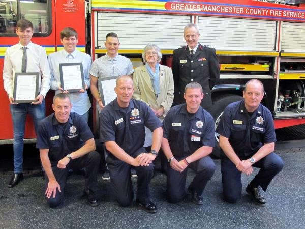'Astley Bridge angels' who saved 91-year-old from fire hailed as heroes