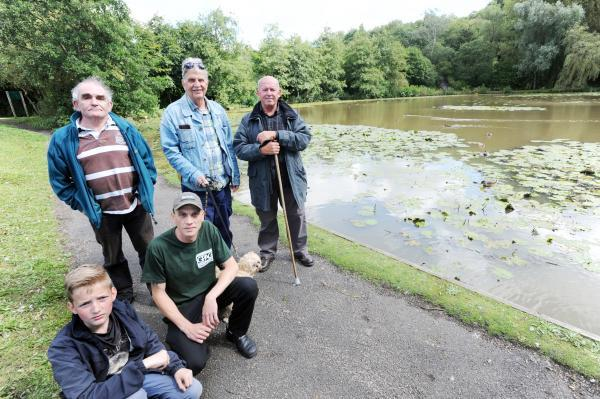 Huge numbers of dead fish found at Bolton beauty spot