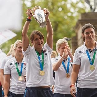 Katy Mclean's England side won the World Cup