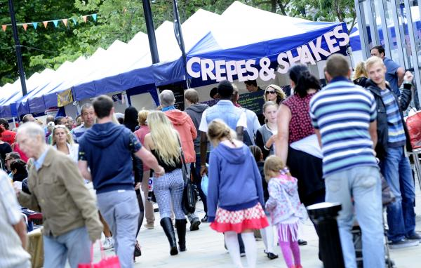 The Bolton Food and Drink Festival attracted large crowds