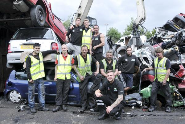 From scrap to TV stardom: Metro Salvage staff win hearts of nation on BBC reality show Scrappers