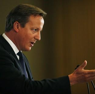 Prime Minister David Cameron will urge fellow European leaders