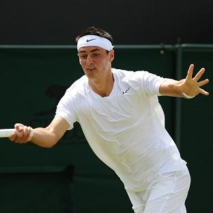 Bernard Tomic could not take to the court for his second-round match