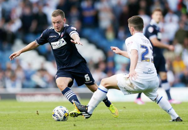 Star man Jay Spearing in action at Leeds