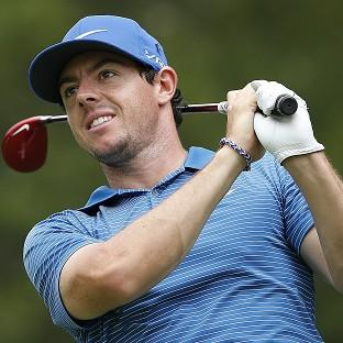 Rory McIlroy was
