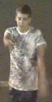 Police want to speak to this man about an attack in which a woman was knocked unconscious with a single punch