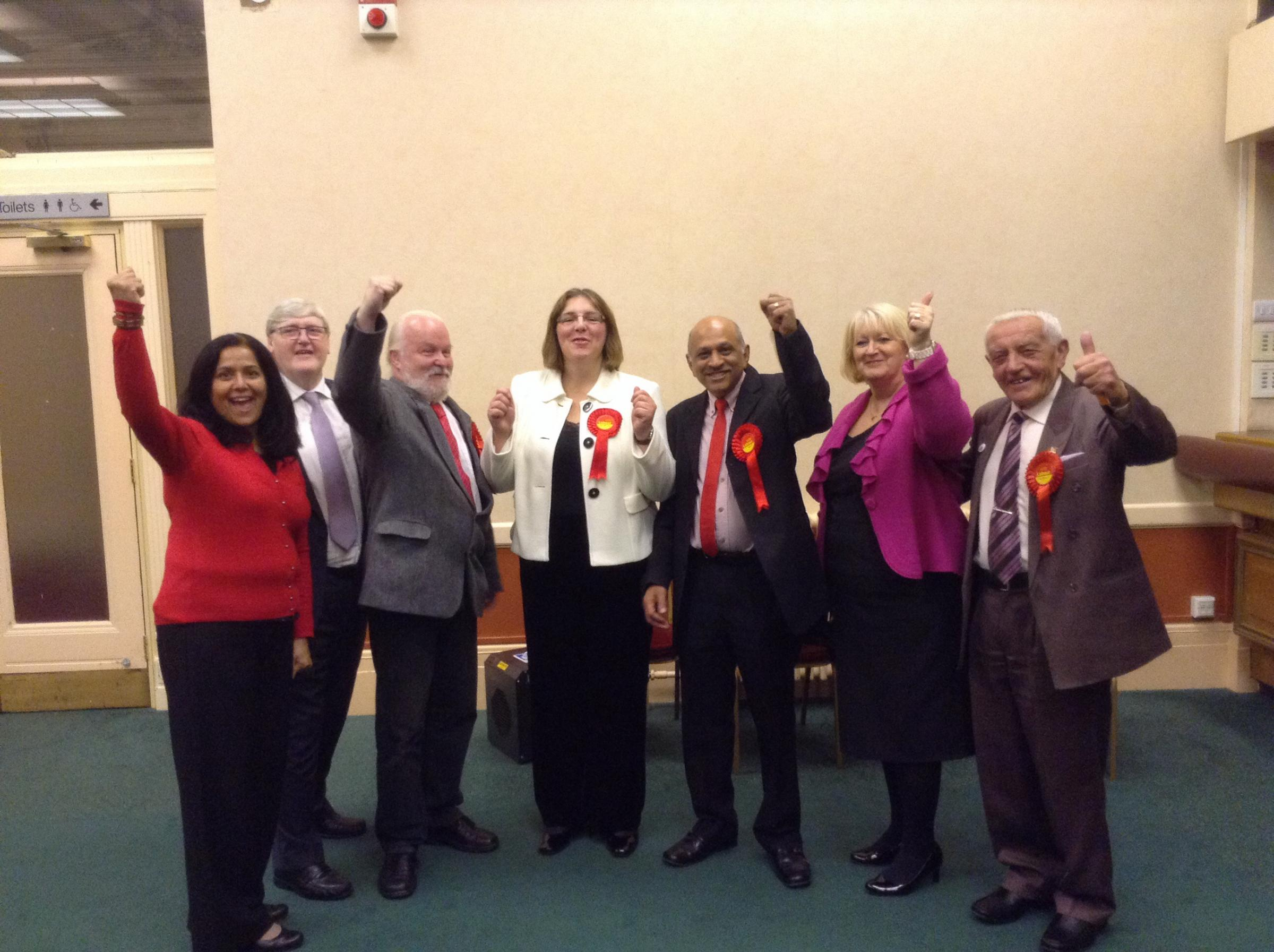 Labour win Harper Green by-election