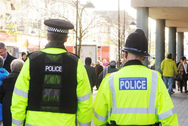 FOR STOCK  Police in Bolton town centre. Photo by Nigel Taggart, Newsquest (Bolton) Ltd., Saturday Novemner 30, 2013.  Story: Miranda (12214028)