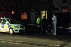 UPDATED: Horrified children see dad stabbed three times outside gates of primary school