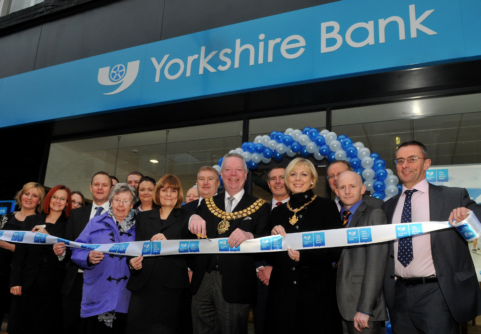 new Yorkshire Bank branch