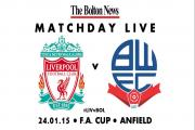 FA CUP MATCHDAY LIVE: Liverpool v Wanderers