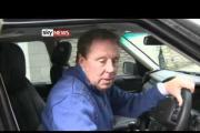 DRIVE TIME: Watch out for Harry Redknapp speaking to reporters from his car window