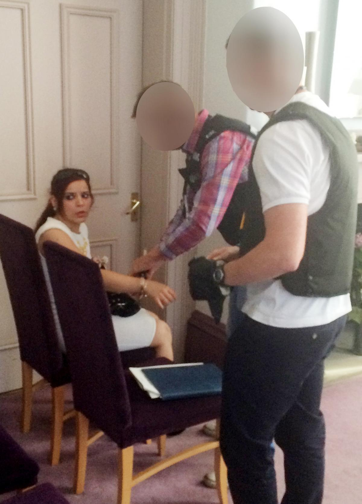 Bolton bride-to-be jailed after being arrested in wedding dress on ...