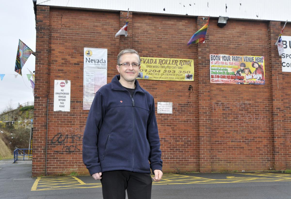 Roller skating hazel grove - Roller Rink To Open New Football Pitch Thanks To 1 000 Police Grant
