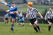 LAST GASP: Castle Hill's Sam Brooks scored a winner with the last kick against Horwich Victoria