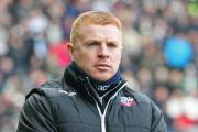 Wanderers boss Neil Lennon wants to become part of the club's history