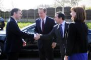 VISIT: David Cameron in Westhoughton at Sacred Heart School