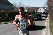 Phil Eccleston in action on his way to fifth place in the Lakeland Trail Hawkshead