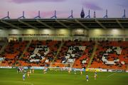 There were hundreds of empty seats at Bloomfield Road when Blackpool hosted Reading recently