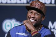 Will Floyd Mayweather still be smiling after facing Manny Pacquiao this weekend?